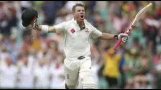 David Warner Century in 78 balls (113 runs) vs Pakistan, AUS VS PAK, 3RD TEST - TWITTER HIGHLIGHT