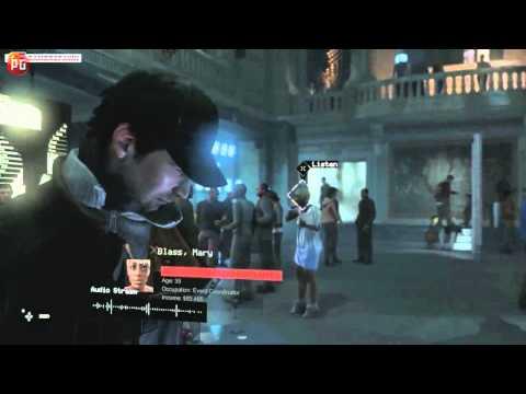 Watch Dogs Анализ геймплея с E3 от GamerSpawn