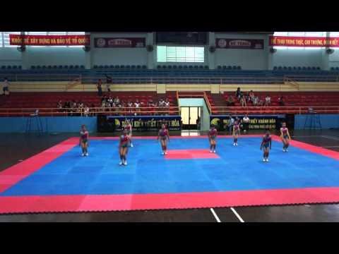 Bài thi thể dục aerobic tiểu học huyện Diên Khánh -HKPĐ Khánh hòa 2012