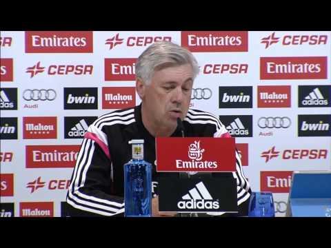"Carlo Ancelotti: ""Wir brauchen Gareth Bale"" | Real Madrid - FC Villareal"