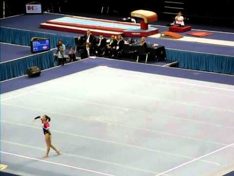 Beth Tweddle - 2011 British Championships - Floor - 1st