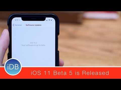 iOS 11.2 Beta 5 Lands for Developers & Public Beta Testers