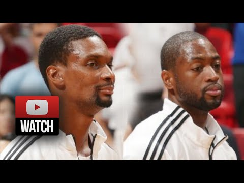 Chris Bosh & Dwyane Wade Full Highlights vs Hawks (2014.10.14) - 38 Pts, 14 Reb Total!