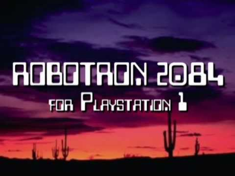 Classic Game Room HD - ROBOTRON 2084 Playstation 1 review