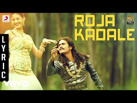 Anegan - Roja Kadale Lyric   Dhanush   Harris Jayaraj video