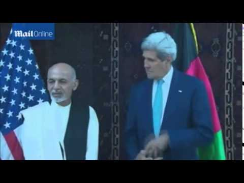 John Kerry makes surprise visit to Kabul