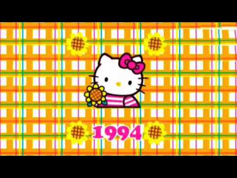 Hello Kitty 35th Anniversary Design History Hello Kitty Video