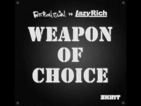 Fatboy Slim Vs. Lazy Rich - Weapon Of Choice 2010 (lazy Rich Remix) .wmv video