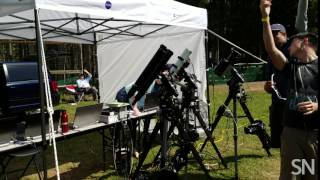 Watch solar physicists watching the eclipse | Science News