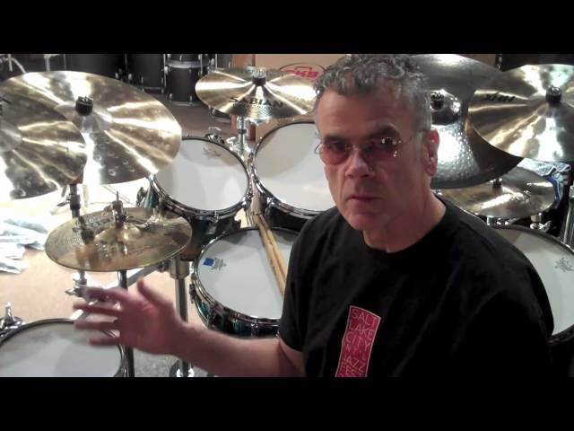 David Garibaldi of Tower of Power Drumhead Selection