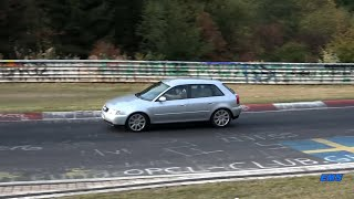 Nürburgring Nordschleife Touristenfahrt 07.10.2018 - Audi A3 8L 1.9TDI @160PS