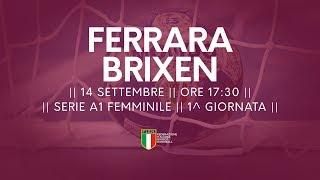 Serie A1F [1^]: Ferrara - Brixen 23-22