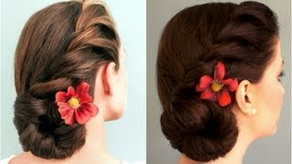 Download Rope-Braided Side Bun 3Gp Mp4
