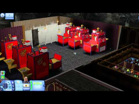 The Sims 3 Gameplay Demo - Midnight Hollow's Golden Ticket Toy Shop