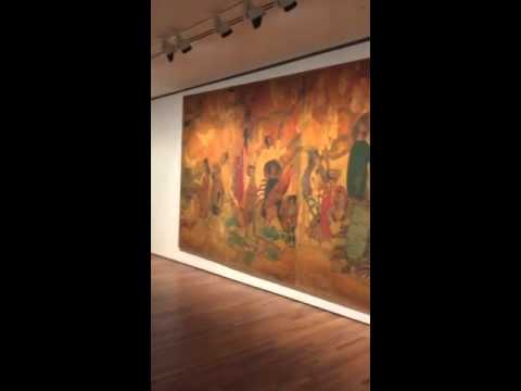 Artworks on display at The National Gallery Singapore