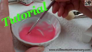 Mottling skin Painting Tutorial with Real Effect air dry paints - Nikki Holland vlog #136