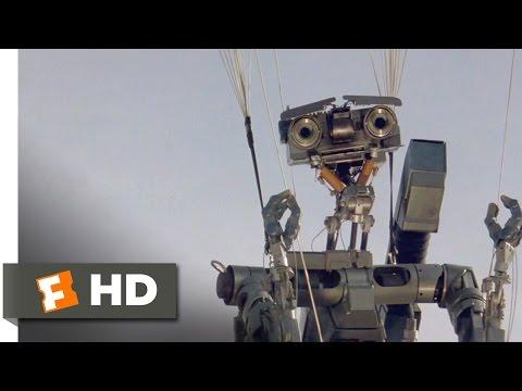Short Circuit (4/8) Movie CLIP - It's Gone Berserk (1986) HD