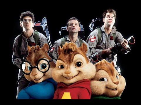 Alvin y las Ardillas Ghostbusters