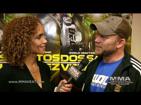 UFC 155 Tim Boetsch on Fighting Philippou Instead Of Weidman  Ending Hector Lombards Win Streak