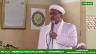 Habib Rizieq Klarifikasi Syiah, JIL