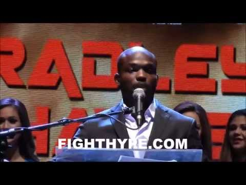 TIMOTHY BRADLEY PROMISES AN EXCITING FIGHT WITH DIEGO CHAVES IM VERY HAPPY TO BE BACK