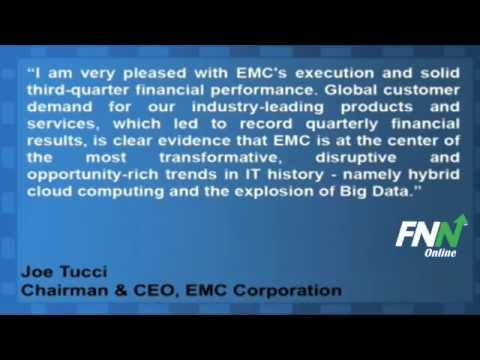 EMC Corporation Bested Estimates For Q3, Rose 18% Year-Over-Year