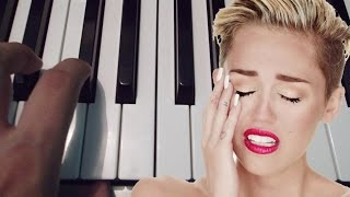 Wrecking Ball / Miley Cyrus / Piano Tutorial / Notas Musicales / Cover