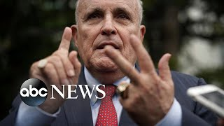 Rudy Giuliani officially refuses congressional subpoena l ABC News