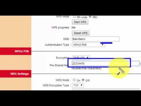 [easy] bsnl wifi password change-How to set password for bsnl modem -HD