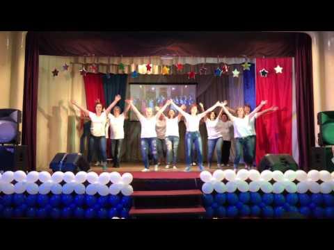 Танец родителей выпускников - 2017 (Славская школа)