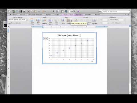 Insert Graphs-Tables-Equations in Microsoft Word on Mac