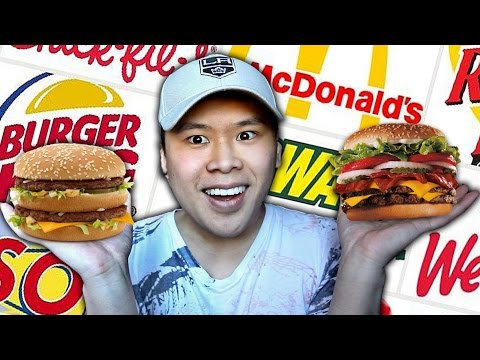 THE FAST FOOD CHALLENGE!!!
