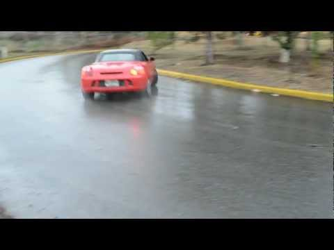 How To Drift A Toyota MR2 Spyder