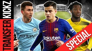 Die 10 Top-Transfers im Winter 2018! | TransferKickz Special