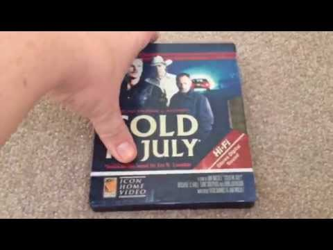 Cold in july UK Blu-Ray steelbook unboxing