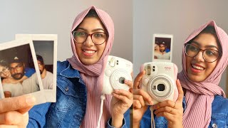 Hubby യുടെ ചെറിയ ഒരു സമ്മാനം😍|| Instant Camera Review || A Surprise Gift From Hubby || Wafa Fahim
