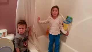 kids in trouble looking guilty