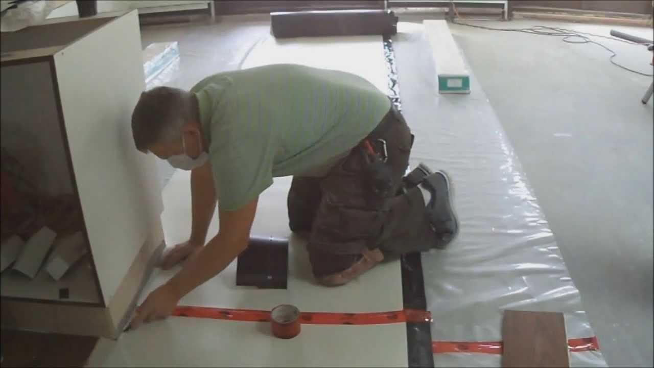 Underlayment For Floating Hardwood Flooring On Concrete