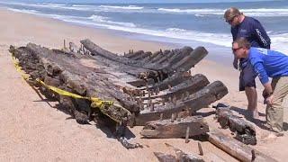 """Holy grail of shipwrecks"" found on Florida beach"