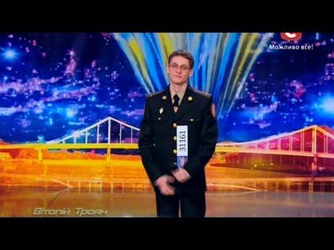 Україна має талант-7.Виталий Троян - рэп -  Киев [07.03.2015]