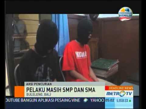 Pencuri Komputer di Sejumlah SD di Buleleng Ditangkap