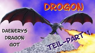 Drogon - #1 - Games of Thrones - Papercraft