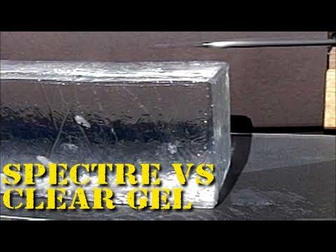Spectre Take-Down Bow vs Clear Ballistcs Gel