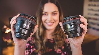 50mm vs 85mm Lens for Portrait Photography