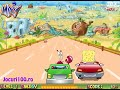 SpongeBob conduce o masina - jocuri cu masini si desene animate