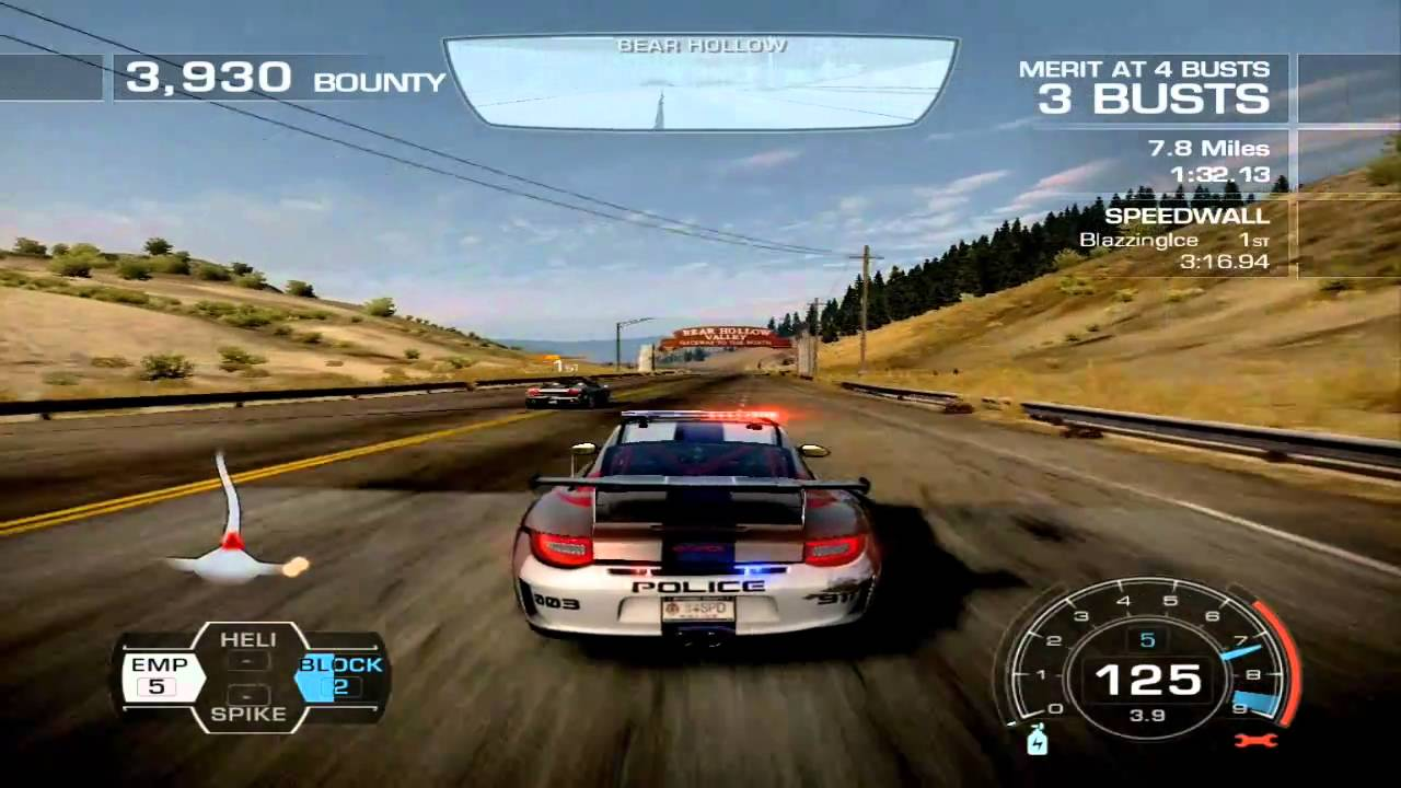 need for speed hot pursuit cop gameplay porsche patrol youtube. Black Bedroom Furniture Sets. Home Design Ideas
