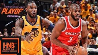 Utah Jazz vs Houston Rockets Full Game Highlights / Game 4 / 2018 NBA Playoffs