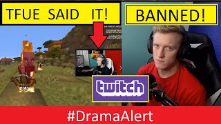 TFUE perma BANNED on TWITCH? #DramaAlert (FOOTAGE) - KSI vs Logan Paul !
