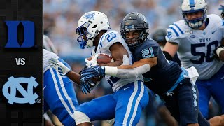 Duke vs. North Carolina Football Highlights (2019)