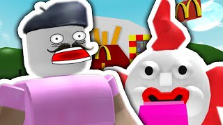 TRAPPED IN MCDONALDS?! | Roblox